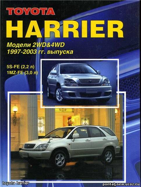 Toyota Harrier 1997-2003
