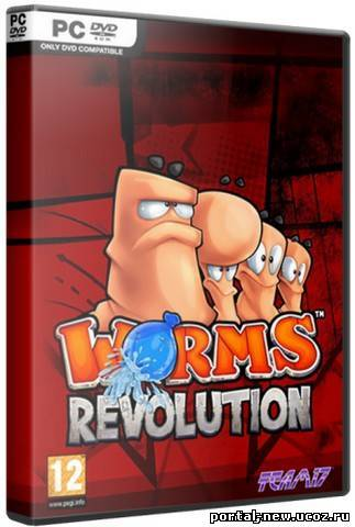 Worms Revolution: Deluxe Edition [v 1.0.90 + 4 DLC] (2012) PC