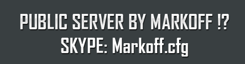 Public Server By Markoff !? 2012