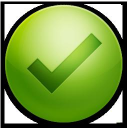 "Иконка кнопки ""ок"" в круглом виде с галочкой - Рендеры ...: http://portal-new.ucoz.ru/load/photoshop/rendery/ikonka_knopki_quot_ok_quot_v_kruglom_vide_s_galochkoj/109-1-0-493"